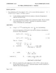 1AA3 chem 2013 tutorial 6 answers