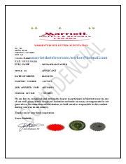 Marriott hotel appointment letter 8 marriott hotel appointment 2 pages marriott hotel invitation letter stopboris Choice Image