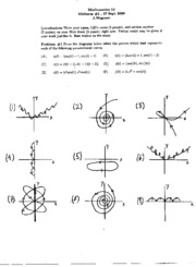 Math 53 - Fall 2000 - Wagoner - Midterm 1