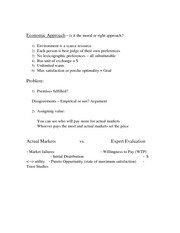 Environmental Ethics Economic Approach 2