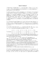 Math 127 Solutions 6