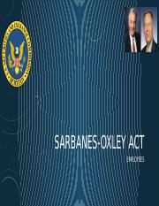 MJD6063 - Week 4 Sarbanes-oxley Act - Employees.pptx