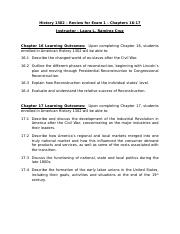 HIST-1302-Review-for-Exam-1-Chps-16-17-SP2015