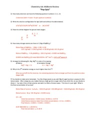 chem 6a fall 2009 practice test with key