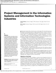 PM in the IS and IT Industries.pdf
