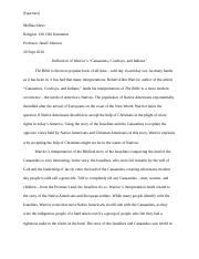 REL130 Johnson Essay 1
