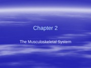 Kinesiology Chapter 2