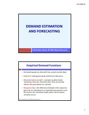 Demand Estimation and Forecasting_Dr Prabha 15.9