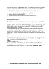 strategic management homework2