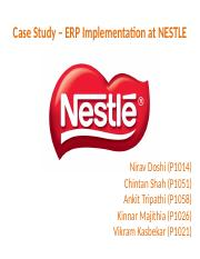 case study nestlé struggles with Maggi case study discuss maggi case  nil started introducing new 'healthy' products in accordance with the nestlé group's global strategy to transform itself.
