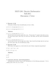 Discussion Notes 1_Solutions