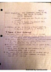 sociological theories 4 themes of social psychology