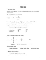 organic notes revised