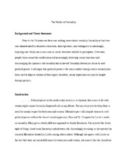 The Road Cormac Mccarthy Essay Human Sexuality Study Resources  Pages  Essay     Essays On Peer Pressure also Argumentative Essay Paragraph Structure Sexuality Essay Human Sexuality Study Resources Essay About The  Jk Rowling Essay