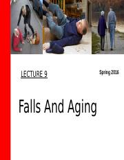 Lecture 9_C2g_ Falls and Aging
