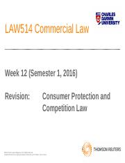 LAW514 Week 12 Revision PPTs