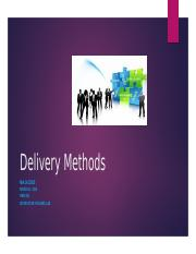 Delivery Methods HRM 326.pptx