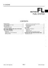 ec - EC-1 ENGINE CONTROL SYSTEM B ENGINE CONTENTS