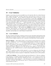 CrossValidation