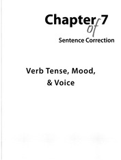 Manhattan GMAT Guide 8 (5th Ed.)_SC (Chapter 7 - Verb Tense, Mood & Voice)