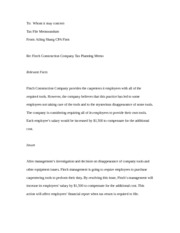 Ailing Shang ACC 460 Memo 2 Chapter 5 copy