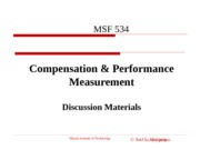 Chp 12 Compensation and Performance Measurement Presentation