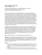 lindholm v brant View notes - blw 2510 lindholm v brant from blw 2510 at wayne state university case brief #3 case name: lindhom v brant (chapter 20) court delivery opinions: supreme court of connecticut,.