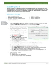 ISM3011_Simnet_Excel2013-Project-2-Instructions