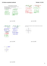 solving equations in one variable notes