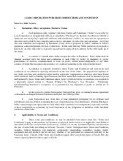 Lear Corporation - PO Terms and Conditions.pdf