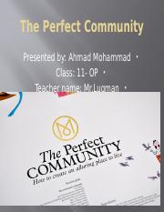 The Perfect Community.pptx