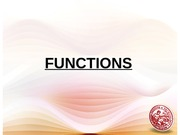 L3 Functions Operations