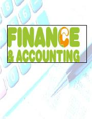 Lesson-Intro to Buss -Finance and Accounting