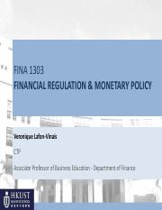 Ch11 Financial Regulation and Monetary Policy