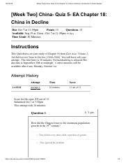 [Week Two] China- Quiz 5- EA Chapter 18_ China in Decline_ Introduction to Asian Studies.pdf
