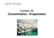 Food_Processing_L16-Concentration-evaporation