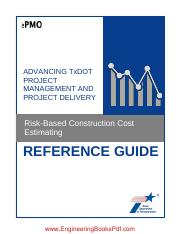 Risk Based Construction Cost Estimating.pdf