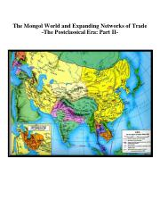 The Mongol World and Expanding Networks of Exchange.pdf
