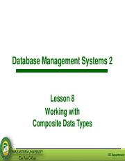 Lesson 7 - Working with Composite Data Types.pdf