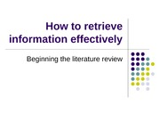 How_To_Retrieve_Information