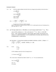 Homework With Solution