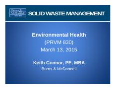 3:13 - Solid Waste Management (Complete)