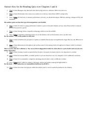 WS216 FSA W2 Answer Key Reading Quiz Chapters 3 and 4