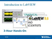 Introduction to LabVIEW 8.6 in 3 Hours