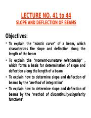 LECTURE # 41 to 44(4)