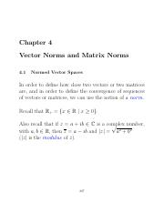 VECTOR AND MATRIX NORMS spple
