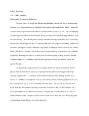 Bibliography reflection essay.docx