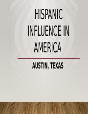 Hispanic Influence in America.pptx