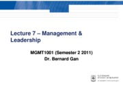 Lec 7 s2 2011 - Management and Leadership_handouts