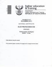 electrotechnics n5 nov2011qp rh coursehero com